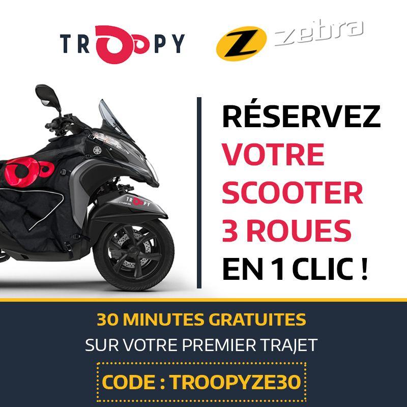 Troopy: 30 minutes gratuites